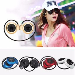 Universal Mini 503 Neckband Sport Earphones Wireless Bluetooth Handsfree Stereo Headset Ear HeadPhones For Iphone 7 6S 5S Samsung S6 S7 LG