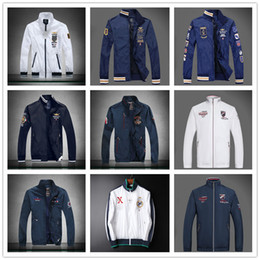 Wholesale 2017 Aeronautica Militare Jackets actives Men s Polo Air Force One Jackets Italy Brand Jackets spring Jacket MAN Clothes M XXL