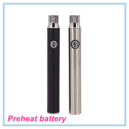 Preheating battery 380mah pre-heat cbd vs touch vape O pen variable voltage 4.0-3.7-3.4v preheating CBD oil vaporizer battery
