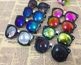 New Fashion Stylish Cool Boys Girls Sunglass fashion Anti UV Kids Sun glasses Plastic Frame children Goggles Free Shipping C821
