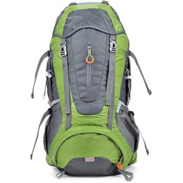 Wholesale Internal Frame Backpack for Outdoor hiking travel climbing camping mountaineering with rain cover