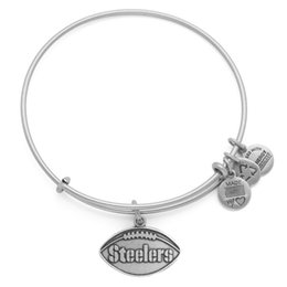 Wholesale original Alex and Ani The steelers Charm Bangle Christmas gift adjustable shrinkable brass bracelet Jewelry factory