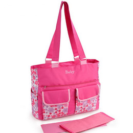Wholesale New Arrival Fashion Baby Diaper Bag Messenger Mommy Bag Nylon Shipping Free
