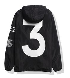 Wholesale Y jacket for men women windbreakers outdoor sport hip hop streetwear softshell kanye west yeezus tour bomber jackets