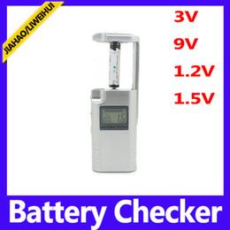Wholesale Mini Digital battery checker for V V V V battery analyzer meter tester checker for household