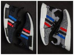 Chaussures de course Hommes NMD, la plus nouvelle couleur, la taille 40-44 Chaussures de course d'hommes Nmd R1 pour les hommes Bottes de dessus, chaussures de sport nmd xr1 à partir de chaussures de sport pas cher fabricateur