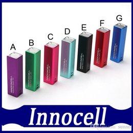 100% Origianl Innocell batterie 2000mah Box Mod Vaping Système d'alimentation Innokin cellulaire Corps de contrôle Micro USB Charging DHL free à partir de système de commande de cellule fabricateur
