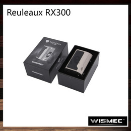 Wholesale Wismec Reuleaux RX300 JayBo W inch OLED Screen Device Upgradeable Firmware Multi protection Systems Power Bank Function Original