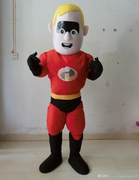 2017 costume de mascotte de commande Costume fait sur commande de costume de bande dessinée de Superman Tout costume de mascotte de modèle entrent en contact svp avec moi avant placez une commande promotion costume de mascotte de commande