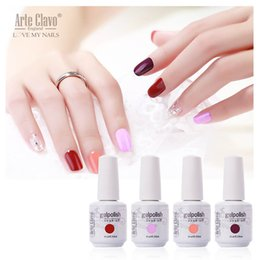 Wholesale Arte Clavo ml Gel Polish French Nails UV Gel Colors For Your Choose Soak Off Lacquer UV Gel Nail Polish