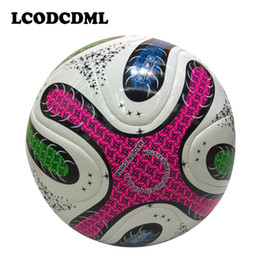 2017 new high quality league soccer ball PU foot ball size5 professional training for adult child kid sports playing