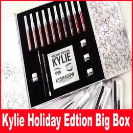 Wholesale Kylie Cosmetics Holiday Collection Big Box INTERNATIONAL Holiday Collection big box holiday box for Christmas gift DHL