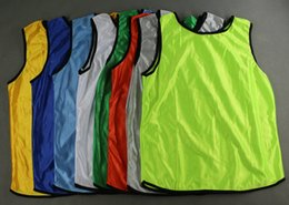 Wholesale Benwon Adult Blank Soccer Group against bibs sports training against Vests soccer t shirts sports games group against jerseys