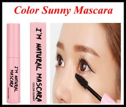 Wholesale Color Sunny Mascara Black Brown Waterproof Mascara Cream Eye Brow Shadow Makeup Set Kit VS Kylie Mascara D Fiber Lashes