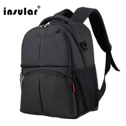 Wholesale Insular Fashion Women Laptop Bag School Backpack Nylon Men Laptop Backpack