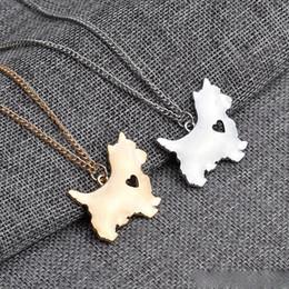 Скидка американские собаки Американские куртки собак кулон Серебряное ожерелье малых ожерелья подвески женщин Горячие продажи ручной работы милый животных ювелирной фабрики