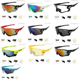 Скидка заходящее солнце Sunlasses Set Мужская Открытый Велоспорт очки Авиатор велосипеда очки Многоцветный Светоотражающие объектива UV400 езда на велосипеде Sun защитные очки