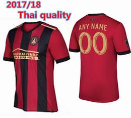 Wholesale FREE Ship Thai quality Men s Atlanta United FC jerseys Atlanta United FC football shirtS Customize name and number USA size S XL