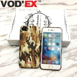 Wholesale Vodex cases Army green Apple fluorescent water mobile phone protection shell D relief iPhone7 plus cases