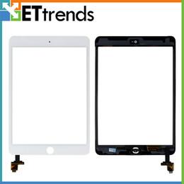 Part entière à vendre-Écran tactile pour iPad Mini / Mini 2 numériseur tactile Complete Complet Assembley avec pièces IC avec bouton Accueil DHL Free Shippin