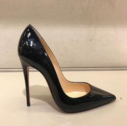 Fashion women shoes black patent leather high heels thin heels pumps wedding shoes dress shoes 120mm