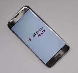 Nouveaux écrans de téléphone en Ligne-La nouvelle version 5.5inch a courbé l'écran Téléphones cellulaires d'Android de bord de S7 Montrez MTK6595 Octa noyau 4G Téléphone intelligent mobile PK I7 plus Goophone S8 Libre DHL