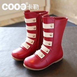 Wholesale Baby Girl Boot winter kids snow boots boys girls real cowhide Australian boots waterproof warm children Cotton Boots