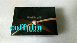 Top Quality New Golf PRO Balls 12pcs box Two Piece Ball V1 Golf PRO V1 Balls Clubs