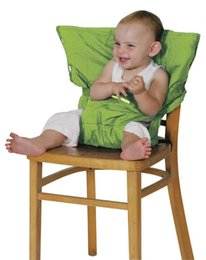 Wholesale Portable Baby Kid Toddler Child Infant Newborn Feeding kids dining seat portablity sitting High Chair Booster Seat Highchair Cover Cushion