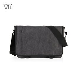 Wholesale VN Designer Briefcase Men Messenger Bags Vintage Canvas Shoulder Bag Mens Buisness Bag Attache Laptop Case Office Briefcase