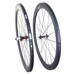 700c Clincher carbon wheels full carbon road bike carbon wheelset 50mm depth 23mm width U sahpe