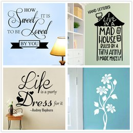 Mix Order Audrey Hepburn Quotes Wall sticker Inspirational Wall Decal Vinyl Removable Phrase and Sayings Motivational School Stickers Decor