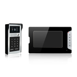 Wholesale New product Villa video door phone with password and ID card unlock quot color screen alloy case