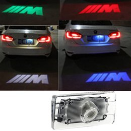 1 x LED Car License Plate Lights Laser Car License Plate Lights Shadow led Projector Logo FOR BMW M f10 f30 f15 f25 x1 x3 x5