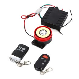 Wholesale car Professional Waterproof Anti theft Motorcycle Security Remote Control Driving Alarm System Easy Installation Anti interference