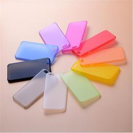 Promotion cas transparents pour iphone 4s Pour iPhone 7 Plus 6 6S 4.7 5,5 pouces 5 5S 4 4S ultra mince mat mince givré Transparent doux peau PP Cover Case 200pcs