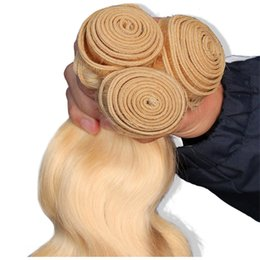 "Brazilian Body Wave Remy Hair Bundles 14""-24"" #613 Color 1PC 100% Human Hair Weaving"