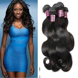 Brazilian Virgin Hair Bundles Body Wave Hair Weaves Weft Cheap Hair Extensions Double Weft 3PC 8A