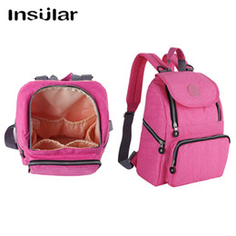 Insular Multifunctional Baby Dipaer Bag Waterproof Mommy Backpack Nappy Bag Backpack