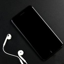Acheter en ligne Pouces 1gb-Le plus récent Jet Black Goophone i7 plus 1: 1 MTK6580 Android 6.0 1 Go + 8 Go Afficher Octa Core 128 Go d'empreinte digitale 5.5 pouces smartphone avec boîte de scellé