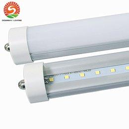 Stock In US + 8 feet led 8ft single pin t8 FA8 Single Pin LED Tube Lights 48W 4800Lm LED Fluorescent Tube