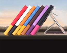 Double Color Magnetic 360 Rotating leather case Smart cover Stand for ipad 5 ipad air