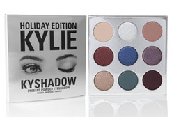 Wholesale Holiday Edition Kylie Cosmetic Limited Collection Kyshadow Palette matte lipstick makeup bag creme shadow Christmas gift