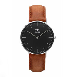 Wholesale TAYROC Watch Genuine Leather Japanese Quartz Movement Case Water Resistant ATM Watch Women Famous Brand Colors