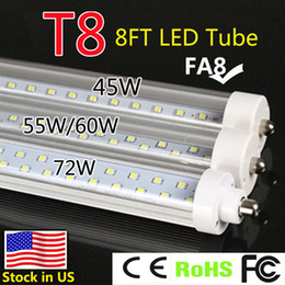 Wholesale First factory FA8 series T8 led tube smd2835 W W W led light super brightness LM W cheaper application for indoor lightin