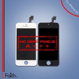 Part entière à vendre-Écran à cristaux liquides Touch Screen Digitizer Full Assembly pour iPhone 5S Grade A +++ pièces de rechange de réparation Livraison gratuite