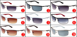 2017 Brand New Designer Sunglasses for Men and Women with metal frame A++ quality Driving Sunglasses Eyewear Sun Glass Cycling Eye glasses