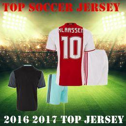 Wholesale Ajax Soccer jerseys kit Maillot de Football FC jerseys FISCHEA MILIK KLAASSEN YOUNES EL GHAZI DIJKS BAZOER Camisa SHOTS