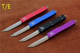 Free shipping,Microtech Ultratech Auto Knife,Blade:8Cr13Mov,Handle:6061-T6Aluminum,Tanto Drop point.Outdoor camping survival tool,wholesale