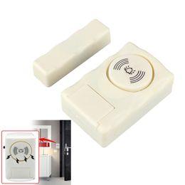 2017 entrée de la porte de sécurité Sécurité sans fil Home Door Window Entry Alarme Système d'avertissement Capteur magnétique BY-MC06-1 entrée de la porte de sécurité sur la vente